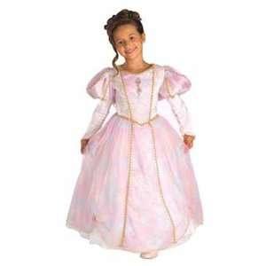 Rainbow Princess Child Medium (8 10) Royal Royalty Costume