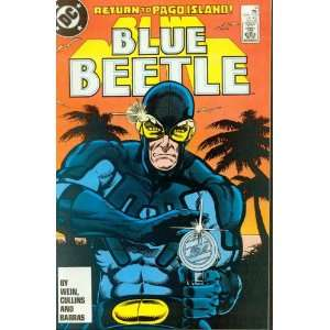 Blue Beetle #14 The Phantom of Pago Island!: Books