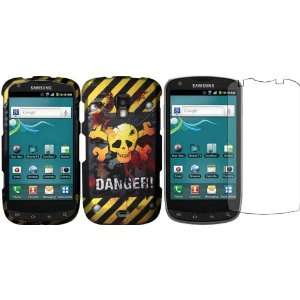 Danger Design Hard Case Cover+LCD Screen Protector for Samsung Galaxy