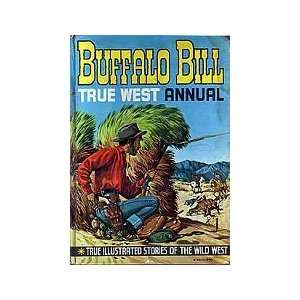 Buffalo Bill True West UK Annual 1962: Rex James, Colin