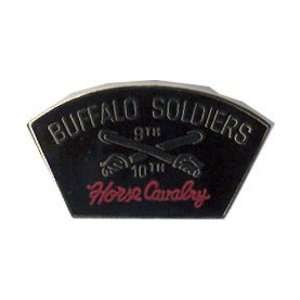 US Army Buffalo Soldiers Lapel Pin