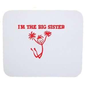 So Relative Im The Big Sister (Cheerleader Stick Figure
