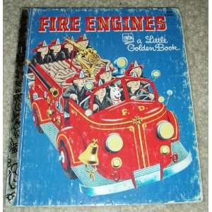 com The Little Golden Fire Engine Book ~ A Little Golden Book Golden