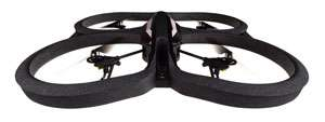 Parrot AR.Drone 2.0 Quadricopter Controlled by iPod touch
