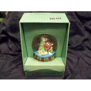 M & M Christmas Tree Ornaments Water Globe Everything