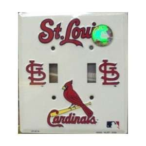 St Louis Cardinals Light Switch Covers (double) Plates