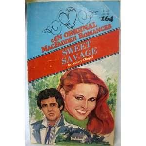 Swee Savage (Mac Fadden #164) (9780897721806) Ashley