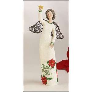Angel with Star Collectible Christmas Figurine