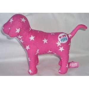 Victoria Secret Pink Stuffed Animal Dog w/Stars