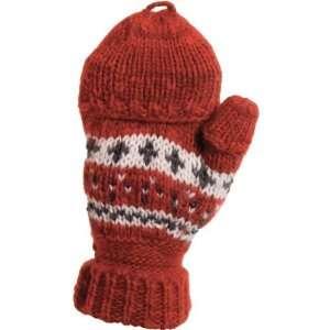 Dorfman Pacific W0558 RUBY Winter Springs   Hand Knit Wool