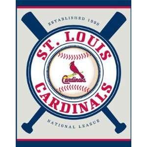 St. Louis Cardinals Double Header Beach Towel