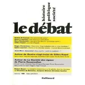Henry Laurens, Gilles Kepel et Roger Persichino Hakim El Karoui: Books