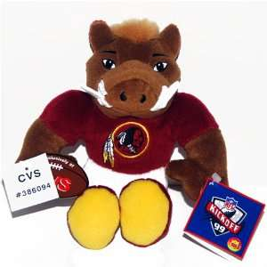 Washington Redskin NFL Football CVS Beanie Plush