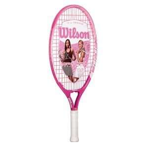 SERENA 21 Girls Pink Tennis Racket WILSON 3 1/2 Sports & Outdoors