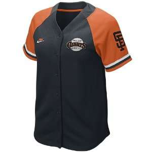 San Francisco Giants Womens Quick Pick Cooperstown Baseball Jersey
