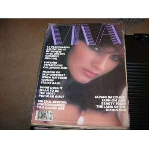 Viva Magazine (JapanDazzling Fashion & Beauty , La Pasionaria
