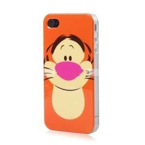 Tiger Design Hard Back Case for iPhone 4G Cell Phones