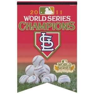 St. Louis Cardinals 2011 World Series Champions 17x27
