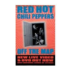 RED HOT CHILI PEPPERS Off The Map Music Poster Home & Kitchen