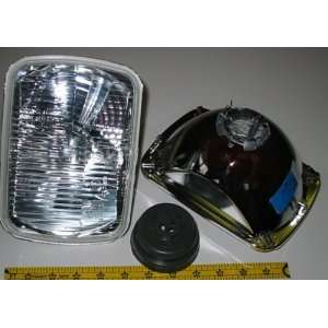 H4 Halogen Replacement Headlight Kit with 100/80W H4 Bulbs Automotive