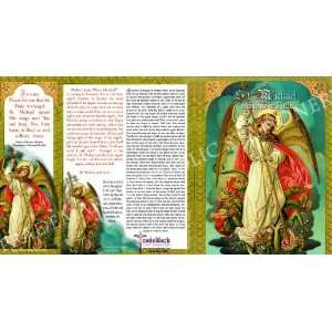 St Saint Michael the Archangel Holy Note Card Set with Bookmark and
