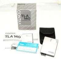 CONTAX FLASH TLA 140 TLA140 CON BORSA e BOX PER G1 G2