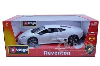 diecast model of Lamborghini Reventon Matt White die cast car model by