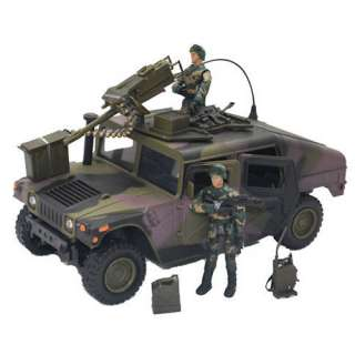 Power Team Elite World Peacekeepers Humvee  Action Toys and Figures