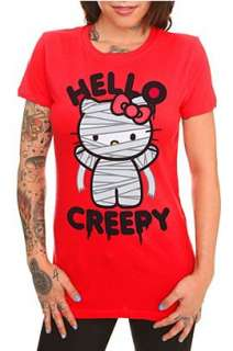 Hello Kitty Creepy Girls T Shirt   163504