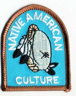 Girl Boy Cub NATIVE AMERICAN CULTURE Indian Patches Crests Badges