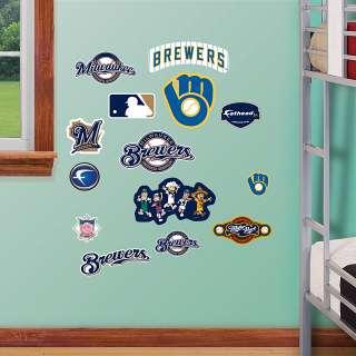 Milwaukee Brewers   Team Logo Assortment   Milwaukee Brewers   MLB