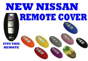 NEW NISSAN ROGUE SMART KEY FOB REMOTE COVER 3BT PURPLE |