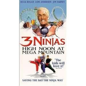 3 Ninjas High Noon At Mega Mountain [VHS] Loni Anderson
