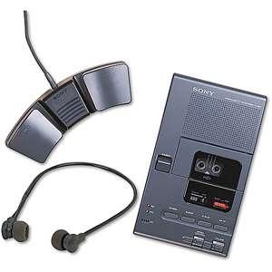 Sony M 2000A Analog Micro Cassette Recorder/Transcriber