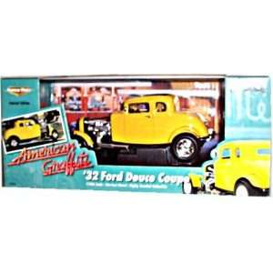 32 Ford Deuce Coupe (Yellow)   118 Scale Collector Replica   Toys