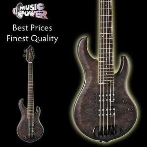 Havoc Black Vapor 5 String Bass Guitar   Royal Paulonia Body