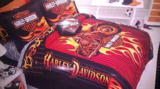 YOUTH ADULTS SPECIAL HARLEY DAVIDSON COMFORTER TWIN FULL QUEEN BEDDING