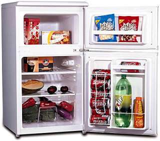 Mini Fridge Freezer Refrigerator Compact Combo RF 320W