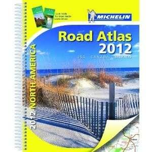 Michelin 2012 UNITED STATES USA/CANADA Mexico Road Atlas, Deluxe