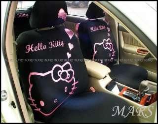 Hello Kitty Universal Car Seat Covers 10pcs/set
