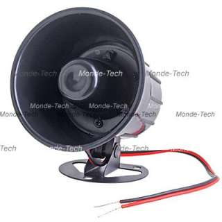 Universal 6 Tone Car Security Alarm Loud Siren Horn 12V