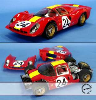 Up for offer is this MG MODEL 1/12 Ferrari 330 P4 Coupé model kit