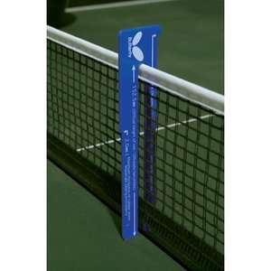 Butterfly Table Tennis Net Height Measure Game Room