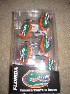 Florida Gators Shower Curtain Rings