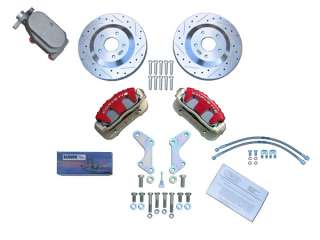GM 10 & 12 Bolt High Performance Rear Disc Brake Kit with Ebrake