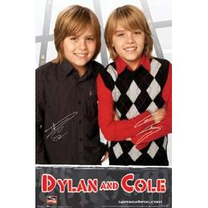 Dylan&Cole Sprouse 1   Poster (22x34): Home & Kitchen