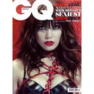 GQ  Gentlemans Quarterly British (Daisy Lowe, April 2011): GQ: Books