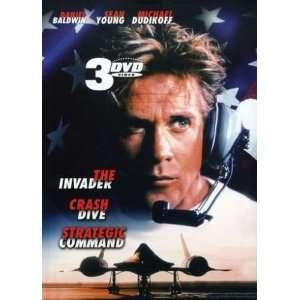 The Invader/Crash Dive/Strategic Command Daniel Baldwin Movies & TV