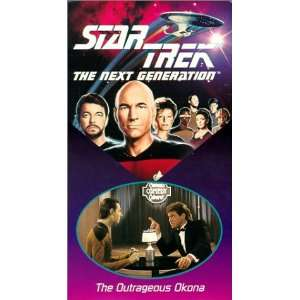 Episode 30: The Outrageous Okona [VHS]: LeVar Burton, Gates McFadden