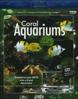 Plasma Art   Coral aquariums (Blu ray)   Blu ray   Discshop.se